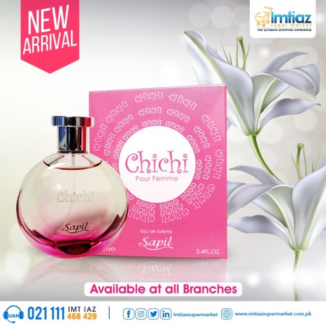 Chichi Perfume Post